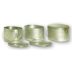 Набор титановых котелков 6.5, 10 и 12 литров (3 шт)