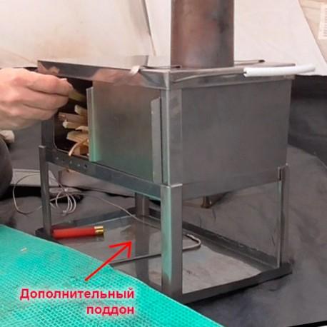 """Дополнительный поддон для печки """"Лучинка"""""""