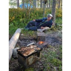 Путина комплект для копчения рыбы и других продуктов в походных условиях