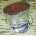 Котелок (крышка с ручками) из нержавеющей стали