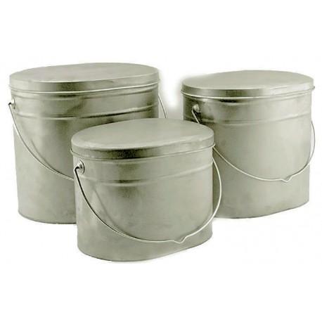 Набор из трех титановых котелков 4, 5, и 6.5 литров