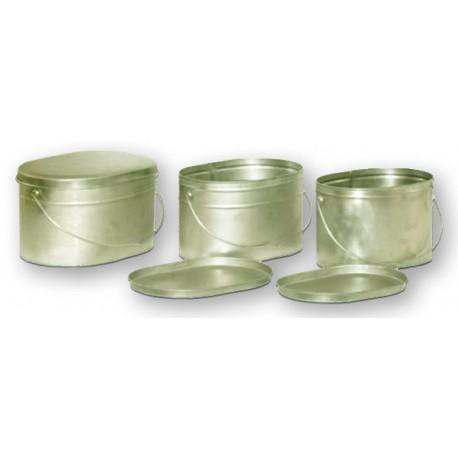 Набор титановых котелков 6.5, 7.5, 9.5 литров (3 шт)